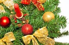 Christmass Dekorationen stockfotos
