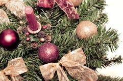 Christmass Dekorationen Lizenzfreies Stockbild