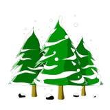Christmass drzewo fotografia stock