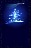 Christmass drzewo ilustracji