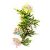 Christmass drzewo obrazy stock