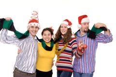 Christmass fun Royalty Free Stock Image