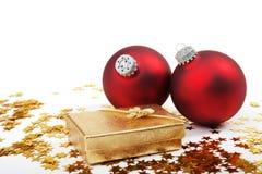Christmass Geschenk lizenzfreie stockfotografie