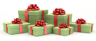 Christmass gifts Royalty Free Stock Photo