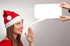 Christmass girl Stock Photos