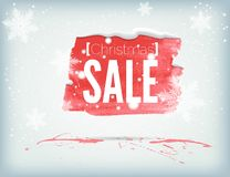 Christmass inky banner Stock Images