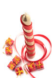 Christmass Kerze Stockfotos