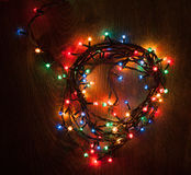 Christmass lights Stock Photo