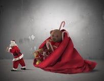 Christmass mycket av gåva Arkivbild