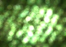 Christmass nastroju zieleni tło Zdjęcia Royalty Free