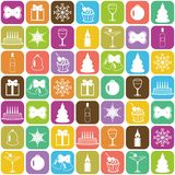 Christmass and new year background Stock Photos