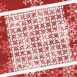 Christmass and new year background with lace. Illustration Royalty Free Stock Images