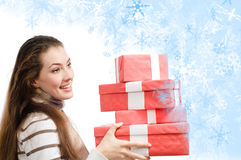 Christmass presents Stock Photo