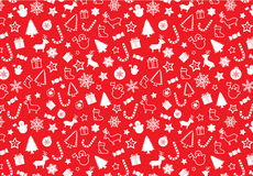 Christmass seamless pattern Royalty Free Stock Image