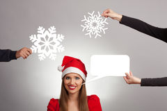 Christmass smile Stock Photography