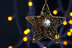 Christmass star Royalty Free Stock Images