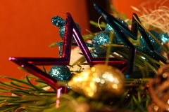 Christmass Stern stockfoto