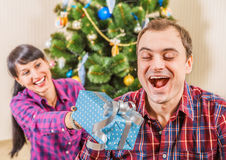 Christmass - it is a Surprise time Royalty Free Stock Photography