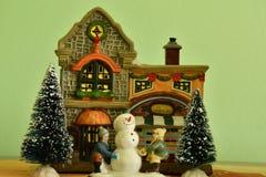 Christmass theme snowmann Bethlehem Stock Photo