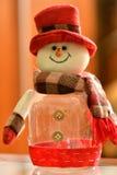 Christmass theme snowmann Bethlehem Royalty Free Stock Photography