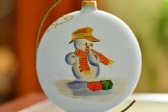 Christmass theme snowmann Bethlehem Stock Photos