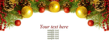 Christmass top decoration Stock Photos