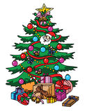 Christmass Tree. Illustrator design .eps 10 Royalty Free Stock Photo