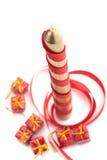 Christmass świeczka Zdjęcia Stock