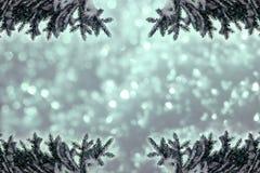 Christmassy或冷漠的背景 免版税库存照片