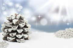 Christmassy background Stock Photo
