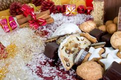Christmassy biscuits Stock Photography
