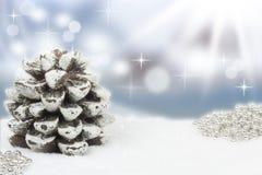 Christmassy-Hintergrund Stockfoto