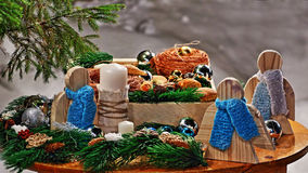 Christmassy still-life royalty free stock photography