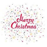 Christmassy Winter Background Royalty Free Stock Photo