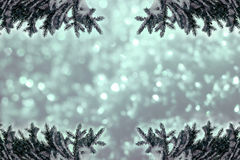 Christmassy or wintry background Royalty Free Stock Photo