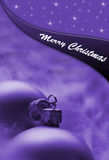 Christmast postcard Stock Photography