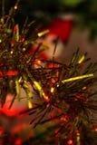 Christmast tree decoration stock images