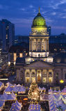 Christmastime de Berlín Imagen de archivo libre de regalías