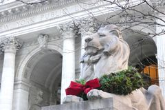 Christmastime in New York City Royalty Free Stock Image