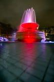 Christmastime no quadrado de Trafalgar Imagens de Stock