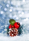 Christmastime still life Stock Images