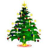 Christmastree 2 Foto de Stock Royalty Free