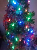 Christmastree. Colorful christmas tree Royalty Free Stock Images