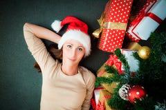 Christmastree drömma Fotografering för Bildbyråer
