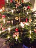 ChristmasTree. Lightning Christmas Tree Royalty Free Stock Photos