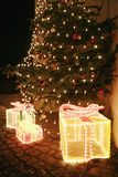Christmastree. Picture of a nice decorated christmas tree Stock Image