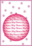 ChristmasTreeBall Photographie stock libre de droits