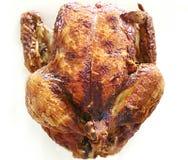 Christmer的煮熟的鸡 免版税库存图片