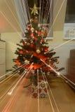 Christmes träd Arkivbild