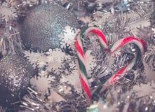 Christmstijd - de liefde is het antwoord Stock Afbeelding